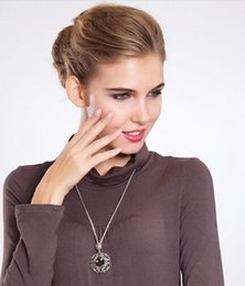 Wholesale Stone Jewellery China - 2015 Fashion stone necklaces pendants jewelry precious stone jewelry gem stone jewellery crystal Pendants necklace sweater chain