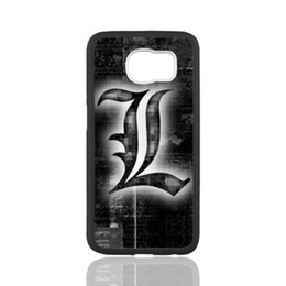 Wholesale Death Note Case - Death Note Sign customized design for samsung galaxy S3 S4 S5 S6 note2 note4 note3 hard plastic cell phone back cover case