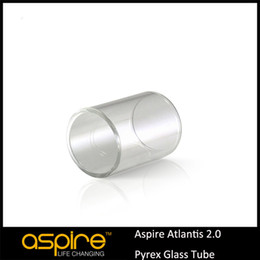 Wholesale Large Pyrex - Wholesale - Large In Stock Aspire Replacement Part 3ML Pyrex Glass Tube for Genuine Aspire 3ml Atlantis 2 tank DHL Free Shipping