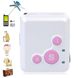 Wholesale Real Time Personal Gps Tracker - RF-V16 Personal Real Time GSM Mini GPS Tracker GPRS Tracking SOS Communicator For Children Two-way Talk Smart GPS Tracker