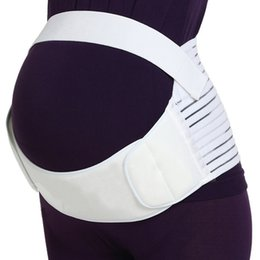 Wholesale Maternity Belly Bands - Breathable Elastic Maternity Support Belt Pus Size Pregnancy Belly Band Back Brace For Pregnant Women Tummy Shaper Size S-XXL
