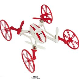 Wholesale Toys Change Shape - Wholesale-New electric drone camera remote control airplane 2.4G remote control toys 2G SDRAM quadrocopter with camera 4 shapes changing