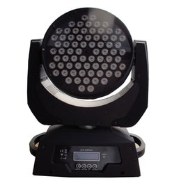 Wholesale Stage Lighting Moving Heads - 72pcs *3W (3in1) tri-color LED moving head wash light led stage lighting