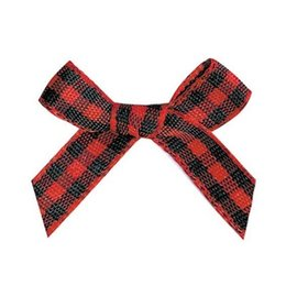 Wholesale Ribbon 6mm - 6mm Gingham ribbon bow,Gift packaging, garment accessories, DIY accessories 100pcs