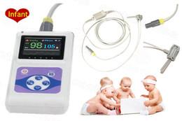 Wholesale Probe Vet - CMS60D Hand-held Pulse Oximeter Spo2 Monitor PC software with option Infant  Child Vet  Adult Probe