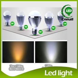 Wholesale E14 18w - New Arrival Led Bulbs E27 E14 B22 LED Light 3W 5W 9W 12W 15W 18W Led Light Bulb 5730 SMD Globe Bulb Warm Cold White Light Aluminum+Acrylic