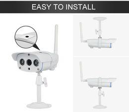 Wholesale Ip Camera Outdoor Eu - 2015 New C7816WIP Onvif HD 720P Wireless P2P IR Cut Night Vision TF Card Slot Outdoor Waterproof Camera ip EU Plug - 240V