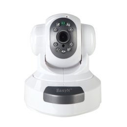 Wholesale Easyn Wireless 1mp Camera - EasyN Wireless IP Camera WiFi HD 720P 1MP CMOS CCTV Security Camera System Alarm PT HD 1MP