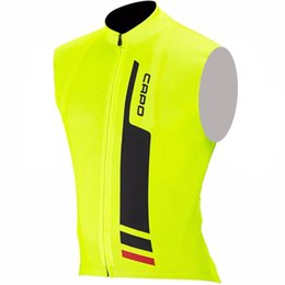 Wholesale Tour France Vests - 2017 Hot New Cycling sleeveless jersey Tour de France Cycling vest summer bicycle Clothing MTB Bike Maillot quick dry cycling shirt B1804