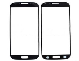 Wholesale Glass Cover S3 - For Galaxy S4 Outer Screen Glass Lens Glass Digitizer Screen Cover For Samsung Galaxy S3 i9300 S IIIS4 IV i9500 i9505 i337 Hot Sell DHL EMS