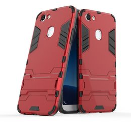 "Wholesale Iron Man Cases - For OPPO F5 6.0"" Hybrid TPU+PC Shockproof anti-knock protector cover Iron Man Case For OPPO F5 Case Coque Fundas"