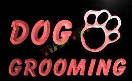 Wholesale Red Dog Sign - LB597-TM Dog Grooming Pet Shop Display NR Neon Light Sign. Advertising. led panel.jpg