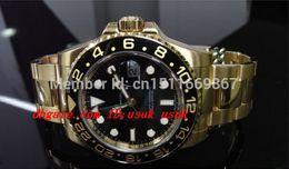 Wholesale fold file - Luxury Wristwatch Sapphire II 116718 Wrist Watch BLACK DIAL automatic Mens Men's Watch Watches Original Box File