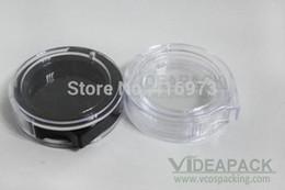 Wholesale Eyeshadow Box Empty - 500 PCS LOT rotable empty 2g eyeshadow case box DIY lip balm jar,beautiful and popular powder container