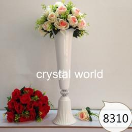 2019 weiße blumen-mittelstücke für hochzeiten Hoher weißer geistiger Blumen-Standplatz-Wedding 872111Table Mittelstücke für Hochzeitsdekoration 3 günstig weiße blumen-mittelstücke für hochzeiten