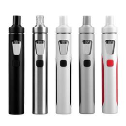 Wholesale One E Cigarette - electronic cigarettes Authentic Joyetech Ego Aio Kit 1500mah Ego Aio Battery 2ml Anti leaking Tank All In One E Cig Starter Kit