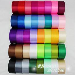 "Wholesale Gift Satin Ribbon - 15% off fashion (25 yards roll) 1-1 2""40mm Single Face Satin Ribbon Wedding Decoration Gift Christmas Ribbons 250yards drop shipping"