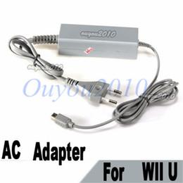 Nueva UE Reino Unido EE. UU. Tipo de enchufe de pared Adaptador de CA Cargador de alimentación para Nintendo para Wii U Gamepad Controller envío gratis desde fabricantes