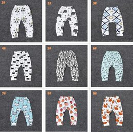 c56b0609014da 24 Design kids INS Lemon pp pants baby toddlers 2017 boys girls fox lemon  tent feather geometric figure fruit trousers Leggings inexpensive designs  girls ...