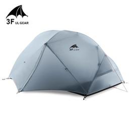 Wholesale Construction Aluminum - Wholesale- 3F UL GEAR 2 Person Camping Tent Ultralight Kamp Tents tenda tente barraca de acampamento