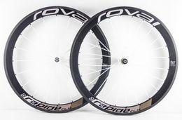 Wholesale Carbon Fiber Bike Wheelset - Super light! road carbon wheels 50mm clincher clincher carbon wheelset 50mm 700C road bike full carbon fiber road bicycle wheels