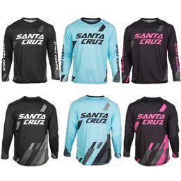 Wholesale Cycle Wear Long - 2015 New arrived long Jersey SANTA CRUZ MTB Offroad Moto Cross Downhill Jersey Cycling Bike Sports Jersey Wear T-shirts Clothing
