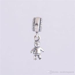 Wholesale Pandora Bracelet Beads Sale - Boy charms dangle authentic S925 sterling silver fits for pandora style bracelet free shipping hot sale H9ale 5 pcs lot