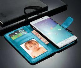 étui porte-monnaie pour samsung galaxy note Promotion Fantastique Pour Samsung N9150 Étui Clip Portefeuille Couverture De Luxe Flip Mignon Coloré D'affaires Mince Étui En Cuir Pour Samsung Galaxy Note Edge N9150