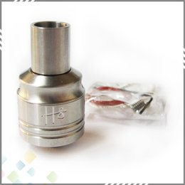 Wholesale Hobo Wholesalers - Hobo V2 Rebuildable Atomizer Stainless Steel Clone Hobo RDA Atomizer high quality for 18650 Mechanical Mod DHL Free