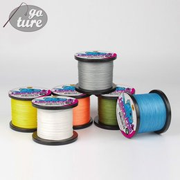 Wholesale Floating Braided Fishing Line - Goture 8 STRANDS Super Strong Japan Multifilament PE Braided Fishing Line 500Meter Jig Carp Fish Line Wire