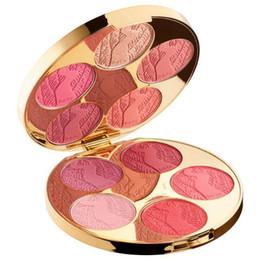 Wholesale Blush Palettes - 2017 Christmas Gift!Girl Limited Edition big & bazaar blush palette makeup blush powder kit 10 colors Prom needy cosmetic palette