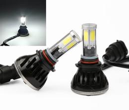 Wholesale Led 36v Headlights - car light COB LED Conversion Headlight 80w 8000lm DC 9-36v 9005 9006 9007 H1 H3 H7 H8 H9 H11 6000K