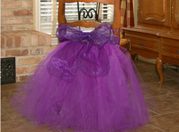 Wholesale Hot Sexy Asia - 2015 Toto Chair Covers Purple Sexy Wedding Supplies Hand Made Cheap Tulle New Arrive Hot Sale Satin Bow Sexy Fashion Wedding Supplies