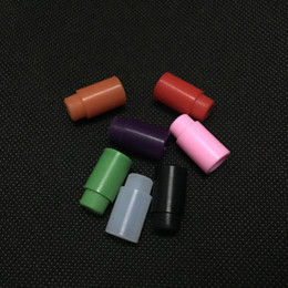 Wholesale mini wide - Silicone Test Drip Tips E cigarette Wide bore luminous drip tips For Atlantis Subtank 2 mini Sub tank Nano Plus Arctic atomizer