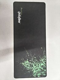 Wholesale Razer Game Mouse - wholesale razer mouse pad Rubber material game mouse pad size700*300