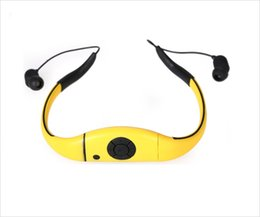 Wholesale Ipx8 Waterproof Mp3 Player - New Arrival WMP8 8GB Memory Waterproof MP3 Player FM Radio Swimming Surfing SPA IPX8 Sports WMP8 handsfree MP3 Players Dropshipping
