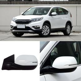 Honda rückspiegel online-1 stücke fahrzeug links seitenspiegel montage für honda crv 2012-2015 auto rückspiegel backlack links