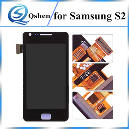 Wholesale S2 Screen Replacement - For Samsung Galaxy S2 i9100 LCD Digitizer Touch Screen Replacement Display With Full Assembly High Quality