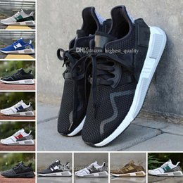 Wholesale Shoes Europe Men - New EQT Cushion ADV 91 17 men women Running Shoes Triple Core Black White Red Blue green North America Europe Asia sports sneakers 36-45