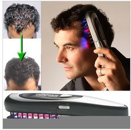 Wholesale Power Grow Combs - New Hot Power Grow Comb Hair Grow Laser Comb Kit Stop Hair Loss Breakthrough Hair Regrow LASER Treatment Hair Loss RegrowTherapy