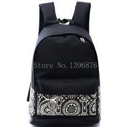 Wholesale Light Purple Canvas Backpack - Wholesale-2015 Hot Sales High Quality Printing Backpack Women Men's Canvas Backpacks Boy Girl School Bags For Teenagers Travel Women