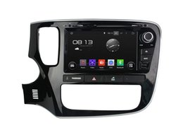 Wholesale Mitsubishi Outlander Gps Navigation - Android 4.4 Car DVD Player for Mitsubishi Outlander 2015 with GPS Navigation Radio TV BT USB SD AUX Head Unit 4Core 1024*600