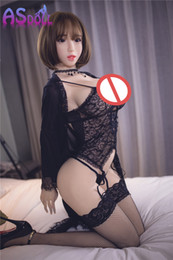 Wholesale Japanese Love Doll Anal - Japanese Love Doll With Big Breast silicone sex dolls Realistic Sexy Products For Men Vaginal Real Pussy Anal sex 170cm