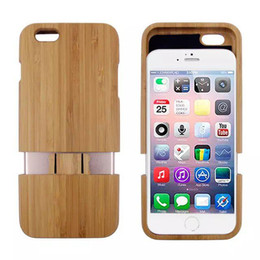 Wholesale Handmade Galaxy Phone Cases - Natural Bamboo Wood Handmade Hand Carved Wooden Cases Covers For Samsung Galaxy S4 Note 4 S5 I9500 For iPhone6 6+ iphone 5s Phone Shells New