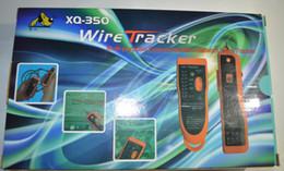 Wholesale Telephone Cable Tracker - Free Shipping 2015 New XQ-350 Telephone Network Phone Cable Wire Tracker Phone Generator Tester Diagnose Tone Networking Tools Orange