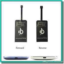 Wholesale Cell Module - S6 Qi Wireless Charger receiver module Cell phone Mini Charge Pad For Samsung nokia htc LG cellphone