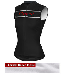 Wholesale Team Cycle Jersey Winter Woman - Hot 2015 women winter thermal Vest cycling clothing Pro team Sportswear Cycling Sleeveless Jersey cycling waistcoat fleece roupa ciclismo