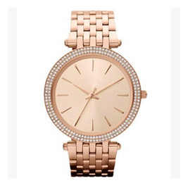 Wholesale new brand dresses - Ultra thin rose gold woman diamond flower watches 2017 brand luxury nurse ladies dresses female Folding buckle wristwatch gifts for girls