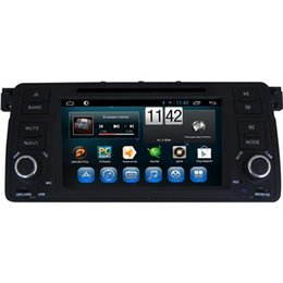 Wholesale Car Radio Bmw E46 Android - Android OS Car DVD Players DC12V 2 DIN Car DVD Players Fit for BMW E46 FM AM Radio Capacitive Touch Screen Hot Sale 7072A