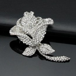 Wholesale Clothe Made China - Free postage hot new 2016 Rose brooch brooch Korea Korean fashion brooch wholesale clothing-made